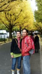 With my boyfriend Moto in Tokyo