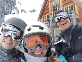 Great day on the slopes with good friends!