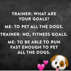 This is why we exercise to much!!!
