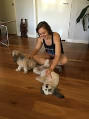 Love to and from Marley (and his perpetual belly rubs) and Sammy.