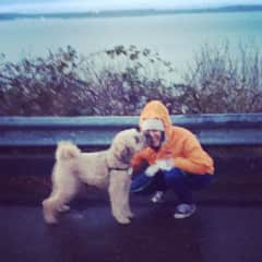 Me and Jackson in West Seattle, Washington USA