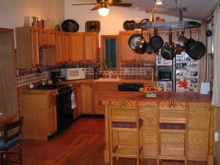Kitchen side of Kitchen/ Dining room
