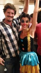 Maria and i, after her dance show.