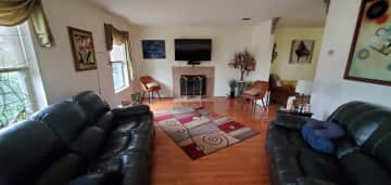 Living room with recliner couches for you to relax on
