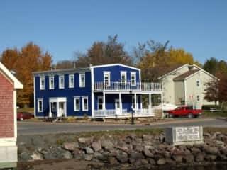 Our house in Pictou, Nova Scotia