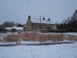 Our smallholding where we live now