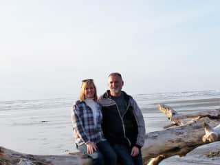 Beachcombing in Oregon