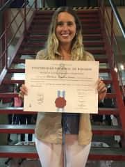 Barbi graduation