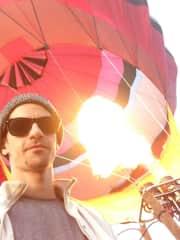 Me at Albuquerque Balloon Festival 2015!