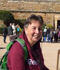 visiting the Alhambra (Spain) February 2020