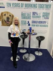 Crufts 2019 supporting The Animal Health Trust