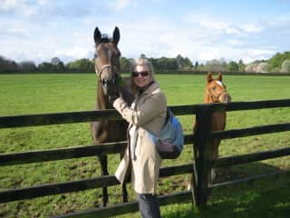 Heather at the Irish National Stud Farm