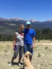 hiking with Stella