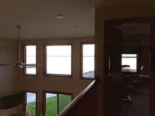 Water view from second floor.