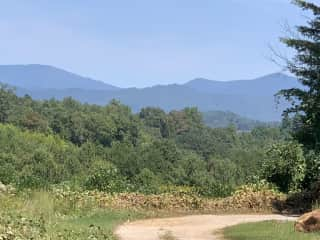 View from my home in Highlands, NC.   Truly my happy, peaceful place....