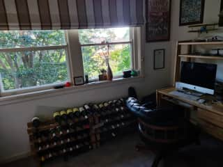 Downstairs study