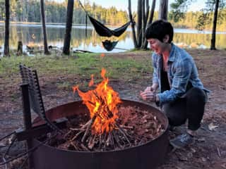 Camping is the best!