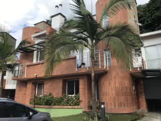 Townhouse in small, secure gated community 4 blocks from the main square. Private backyard with outdoor kitchen.