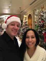 Christmas 2018 - Royal Sonesta Hotel, New Orleans. We love Christmas festivities!