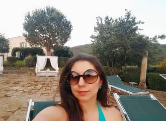 Monica traveling in Italy, la dolce vita!