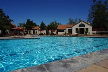 Community pool, within walking distance