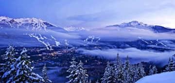 Whistler and Blackcomb Mountain