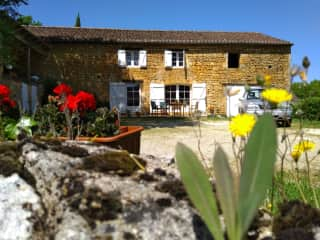 My home in Montcabrier, South West France