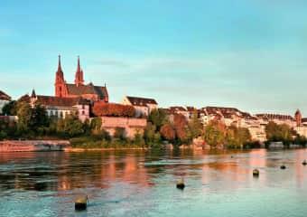 The Rhein in Baselstadt (35min tram ride away)