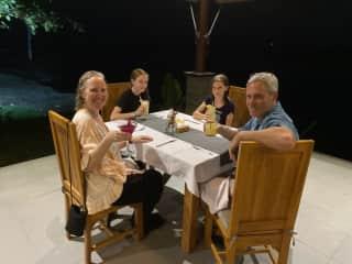 Laura, Kenny, Ava, Aziza