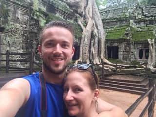 Traveling through Cambodia