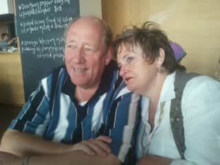 Jim and Debi happily married for 40 years in April 2018