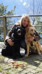 Myself and my two Labs