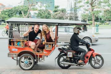 We lived in Phnom Penh, Cambodia for 3 years.
