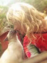 Me and my cat Saoirsa