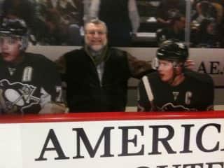 Self @ Pittsburgh Penguins hockey match