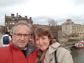 Claire and Lachlan in York,UK