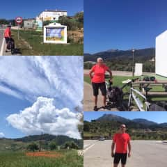 A recent cycle from Alhaurin El Grande to Ronda and back!