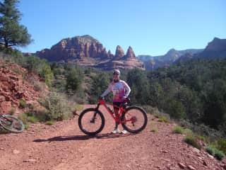 Mountain biking in Sedona Arizona