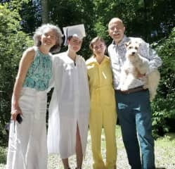 The family graduation picture 2020