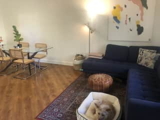 Couch/living area