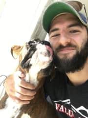 Wilson -- Boxer pup.