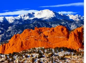 My home town: Colorado Springs, Colorado, USA