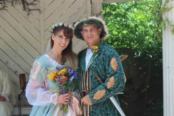 We got married May 2018 at the Renaissance Festival.