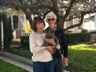 Susan, Julian & Fifi in So California