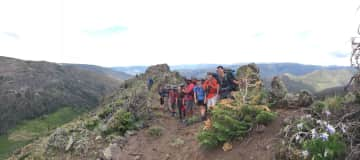 Backpacking high school group I assisted with