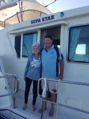 Arrived in Denham on our journey to Fremantle 2020