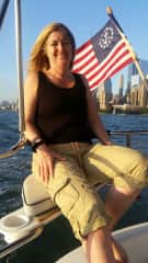 Sailing on the Hudson River NYC!