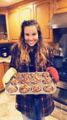This is my happy place. I really love to bake. Especially muffins! I just think they are so cute and you can make them really nutritious as an on the go snack.