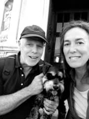 Andrew Ro and Winnie Magenta Italy