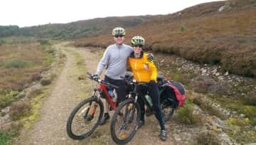 Biking adventure in Scotland
